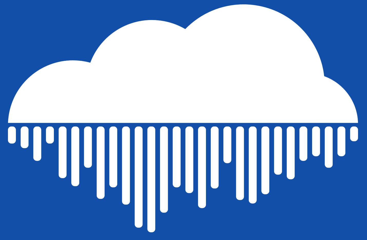 SendBeatsTo Logo, No Typography, Blue Background