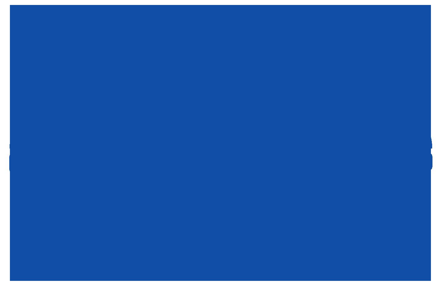 SendBeatsTo Blue Logo, No Typography, Transparent Background