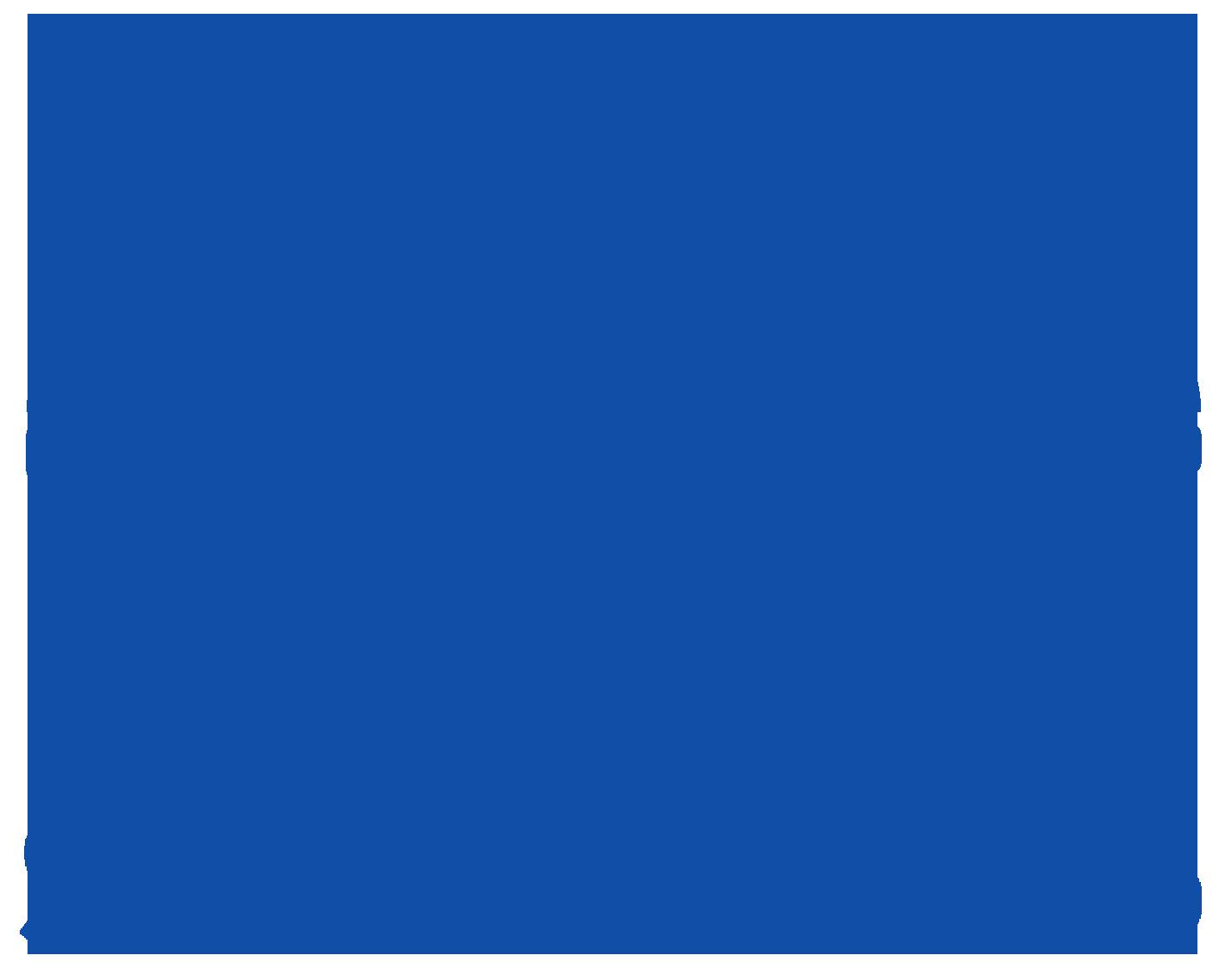 SendBeatsTo Blue Logo, Transparent Background